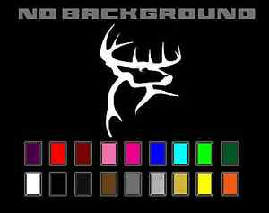 Buck Commander Whitetail Deer Decal Sticker Vinyl Car Truck Window Wall Decor