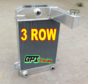 For Triumph Tr2 tr3 tr3a tr3b Mt Aluminum Alloy Radiator