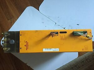 Used Baumuller Bug2 60 31 b 010 Basic Feed Unit Servo Drive boxyd