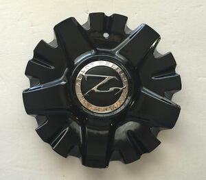 1 Zinik Z26 Vieri Black Wheel Center Cap Z26 2295 cap Lg0708 91 W Screw