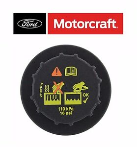 Oem Motorcraft For Ford Lincoln Mercury Radiator Coolant Recovery Tank Cap Rs527