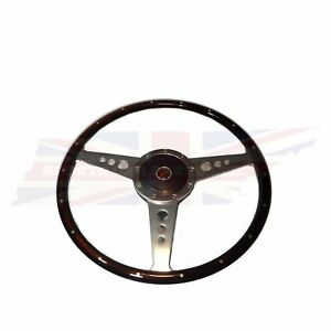 New 15 Wood Steering Wheel And Adaptor For Mgb 1963 1967 Mg Midget 1964 1967
