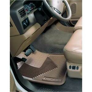 Husky Heavy Duty Front Floor Mats Tan For Dodge Ford Gm Truck Suv 1975 1991
