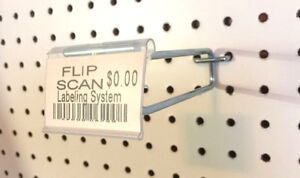100 Pack 6 Inch Flip Scan Metal Peg Hooks W label Holder 1 8 To 1 4 Pegboard