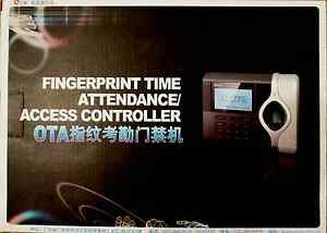 New Biometric Fingerprint Attendance Time Clock Id Card Reader Tcp ip Usb