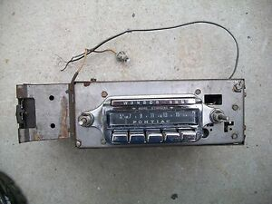 1960 Pontiac Catalina Bonneville Star Chief Ventura Rare Wonderbar Radio 989615