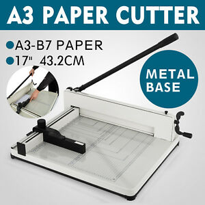 Manual 17 A3 Paper Cutters Trimmers Guillotines Machine Heavy Duty