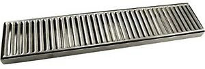 Countertop Drip Tray 19 Stainless Steel Kitchen Bar Drain Beer Dispensing
