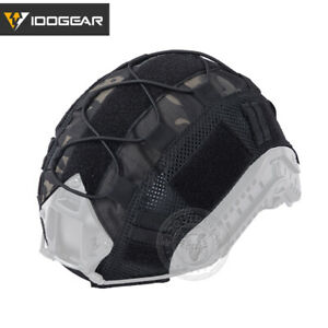 IDOGEAR FAST Helmet COVER Tactical Hunting Airsoft Gear Sports Headwear Camo
