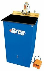 Kreg Dk1100fpr Single spindle Pneumatic Pocket Hole Machine reconditioned