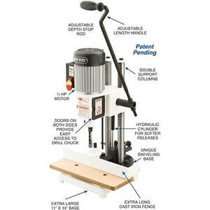 Shop Fox W1671 3 4 Hp 3 450 Rpm Heavy Duty Chisel Mortising Machine new In Box