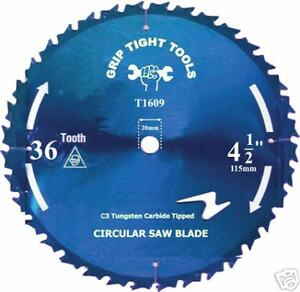 4 1 2 X 24th Carbide Saw Blades fits Porter Cable 314 And Rockwell Rk3441k
