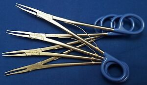 Ethicon Small Blue Hemoclip Applying Forceps 6 Lot Of 4 New