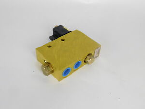 Vickers Eper1 10 10 00 10t 12dq Hydraulic Manifold Valve Assembly