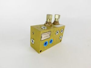 Modular Controls Hydraulic Manifold Valve Assembly Psv6 6 d 6t 10 12 New S