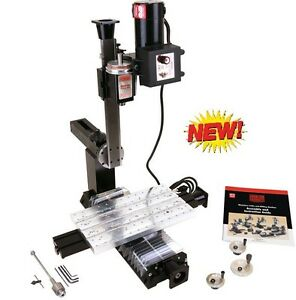 Sherline 5810 cnc Next Generation Mill metric Cnc ready For Step Motor Mount