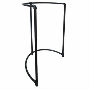 New Pipeline Collection Half Round Garment Rack Black free Shipping