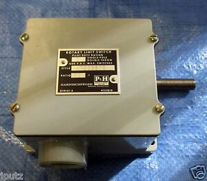 P h Rotary Limit Switch Single Pole Double Throw 36 1 479q35d2 Pilot Duty Rating