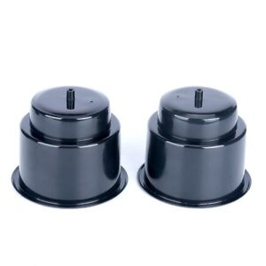 50pcs Boat Recessed Plastic Cup Drink Holder With Drain Black For Car Marine Rv