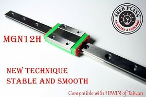 Mgn12h Linear Sliding Guide Block 250 300 350 400 450 500 550mm Cnc 3d Printer
