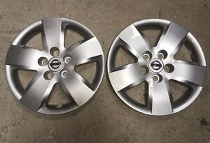 Pair Of 2 53076 New Nissan Altima 16 Wheelcover Hubcaps 2007 08 09 10 Free Ship