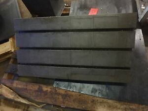 33 5 X 17 75 Steel Welding T slotted Table Cast Iron Layout Plate Jig_