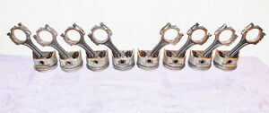 1970 1971 1972 73 Ford Mustang Mach1 Torino Cougar Orig 351c Pistons Conn Rods