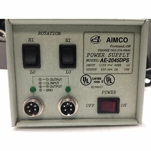 Aimco Electric Screwdriver Power Supply