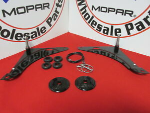 Dodge Challenger Hood Lock Pin Kit New Oem Mopar