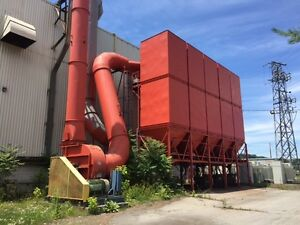 Ecc Dust Collector 70 000 Cfm Model 900m 300 Hp