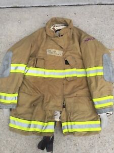 Firefighter Globe Turnout Bunker Coat 49x35 G xtreme Halloween Costume