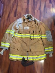 Firefighter Globe Turnout Bunker Coat 48x35 G xtreme Halloween Costume