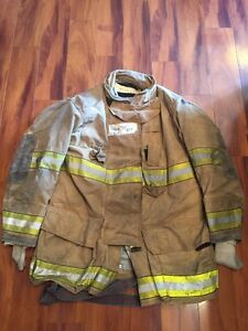 Firefighter Globe Turnout Bunker Coat 46x35 G xtreme Halloween Costume