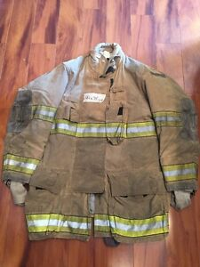 Firefighter Globe Turnout Bunker Coat 44x35 G xtreme Halloween Costume