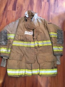 Firefighter Globe Turnout Bunker Coat 41x35 G xtreme Halloween Costume