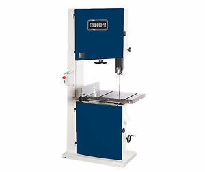 Rikon 10 380 22 3hp Wood Bandsaw W Fence free Ship New In Box