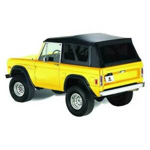 Bestop Supertop Classic Complete Softtop Black For Ford Bronco 1966 1977