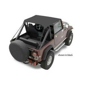 Bestop Traditional Bikini Top Tan For Jeep Cj7 Scrambler Wrangler 1976 1991