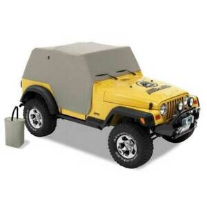 Bestop All Weather Trail Cover Charcoal For Jeep Wrangler Unlimited 2004 2006