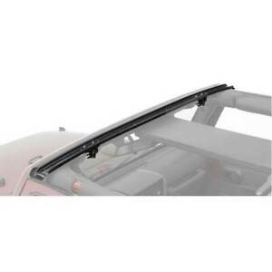Bestop No drill Header Windshield Channel For Jeep Wrangler unlimited 2007 2016