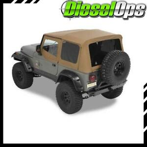 Bestop Supertop Nx Softtop W Tinted Windows Spice For Jeep Wrangler 1988 1995