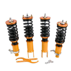 For Honda Civic 92 95 Integra 94 01 Adj Coilovers Coil Struts Shock Absorbers