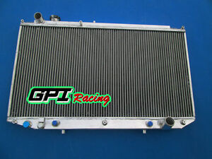 Fit Lexus Gs300 toyota Aristo Jzs147 2jz ge 3 0 At 91 97 92 93 Aluminum Radiator