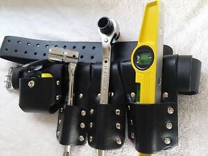 Scaffolding Black Leather Tool Belt Good Full Tools Best Quality 17 21 Ratchet