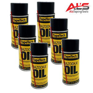 Ames Tapetech Bazooka Oil Drywall Taping Tool Lubricant 12 Pack