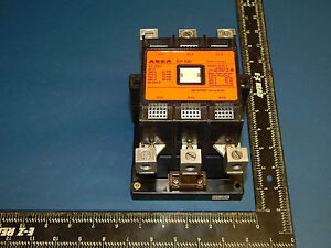 Abb Asea Control Eh 100 Contactor Size 3 105amp 600vac 3pole 30 75hp Eh100