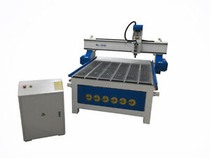 Kl 1212 Cnc Router 48 X 48 Inch T Slot Vacuum Table Helical Rack And Pinion