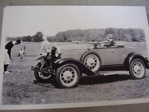 1930 1931 Ford Roadster 12 X 18 Large Picture Photo