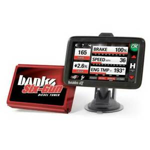 Banks Power Six Gun Diesel Tuner W Banks Iq For Gm 2500hd 3500 6 6l Lly 04 05