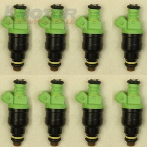 Set 8 42lb 440cc Ev1 Fuel Injectors For Ford Mustang Sohc Dohc Gm Lt1 Ls1 Ls6